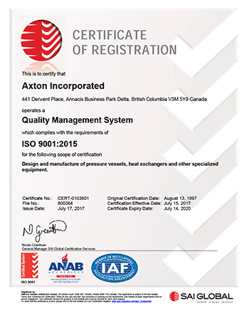 Axton | Delivering Global Scale in Custom Equipment Manufacturing